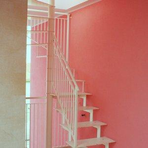 Scale da esterno mondolfo scale produzione scale a chiocciola e a giorno ferro e legno - Scale da esterno in muratura ...